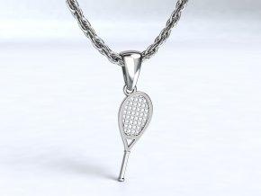 Zlatý přívěsek tenisová raketa 1108101