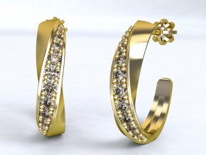 Zlaté šroubky přetočené 1209501
