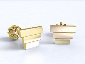Zlaté šroubky schůdky 1212201