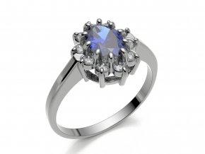 Zlatý prsten Lady Di 31510101