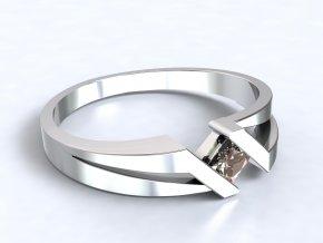 Stříbrný prsten India