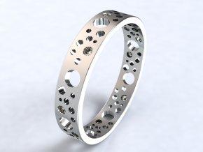 Ag925 prsten ementál
