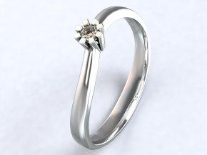 Ag925 prsten mini korunka