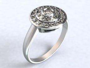 Ag925 prsten muchomůrka