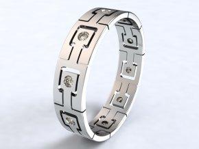 Ag925 prsten zámky