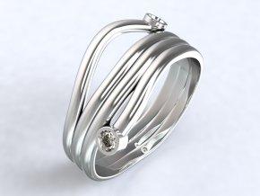Ag925 prsten alien