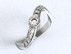 Ag925 prsten vrtule