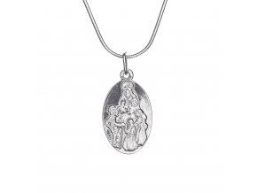 Stříbrný přívěsek Svatá Zdislava 012201