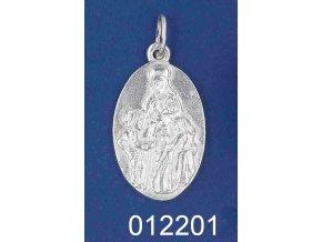 Stříbrný přívěsek Svatá Zdislava