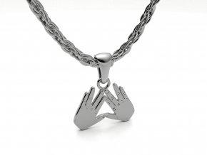 Přívěsek Kohenovy ruce stříbrné 052101