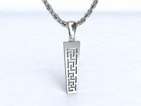 Přívěsek řecký motiv stříbrný 105501