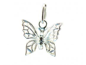 Ag925 z.motýl filigrán