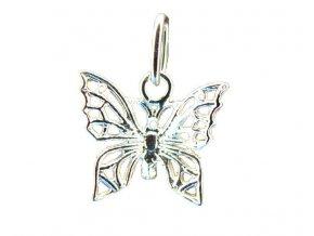 Přívěsek motýl filigrán stříbrný 106701