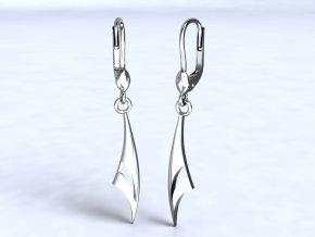 Stříbrné náušnice arabela 205501