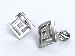 Stříbrné šroubky labyrint 210801