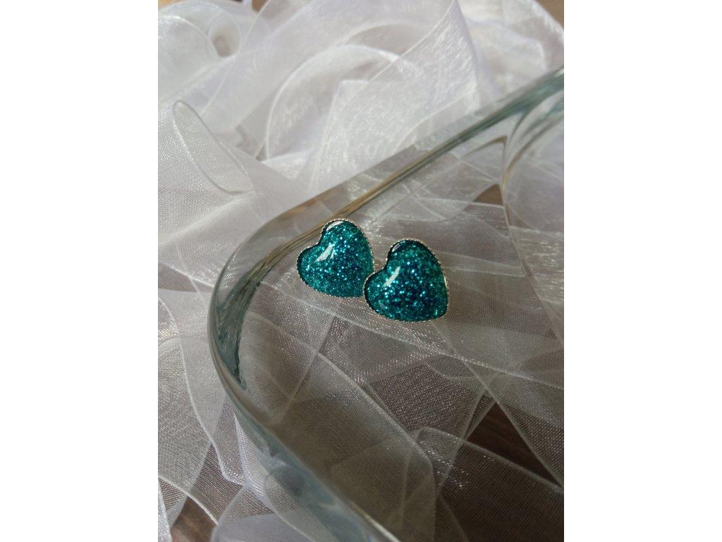 Pecky HEARTS Glitter