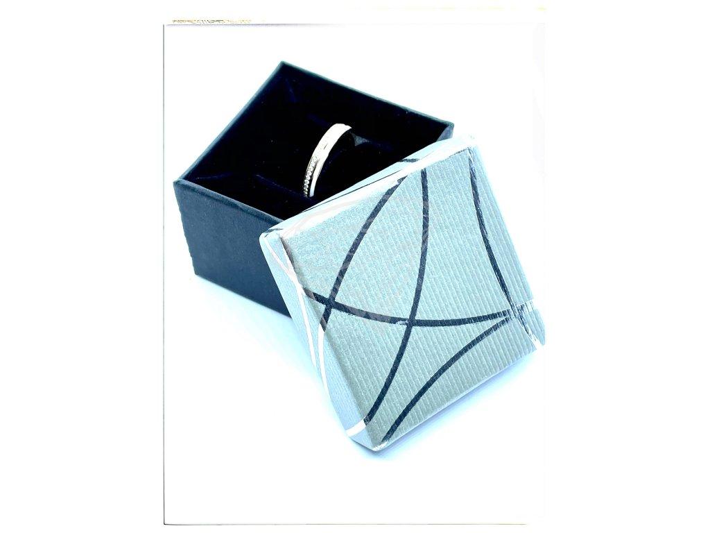 (A001) Papírová krabička na šperky bez mašle