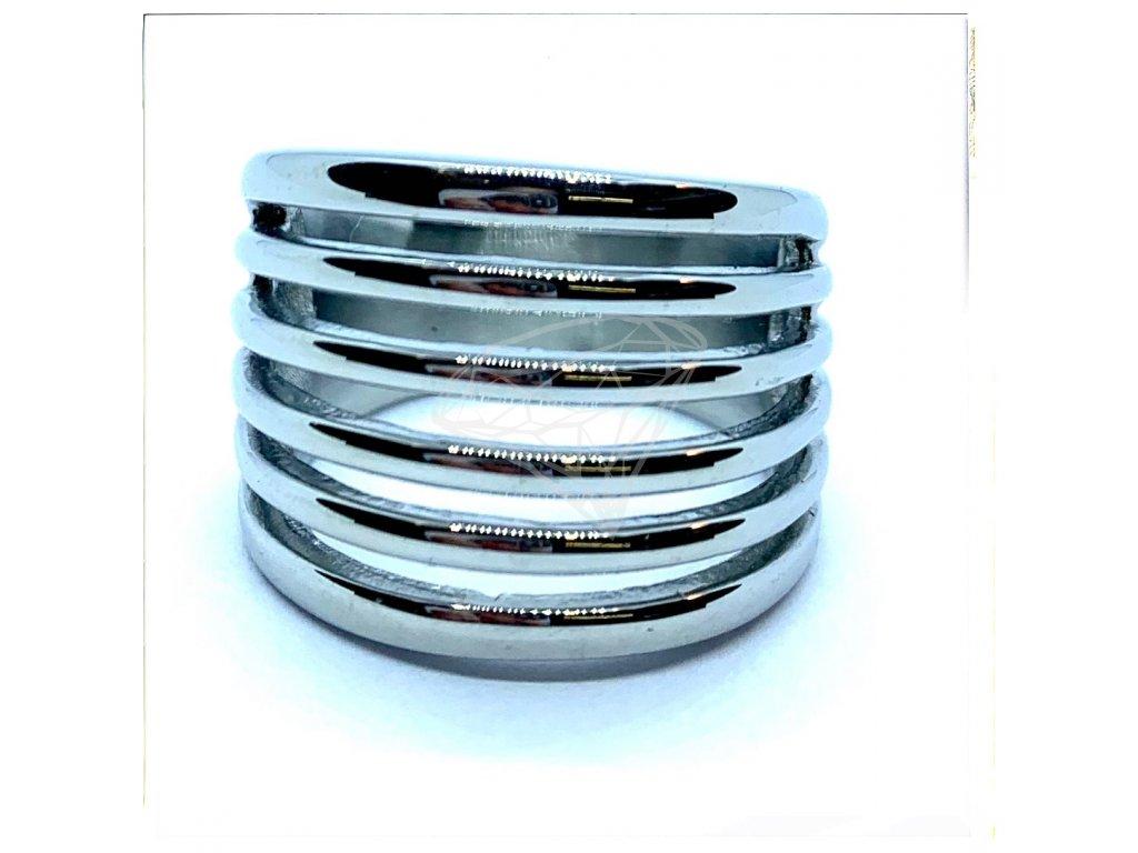 (O154) Ocelový dámský prsten LUCIE