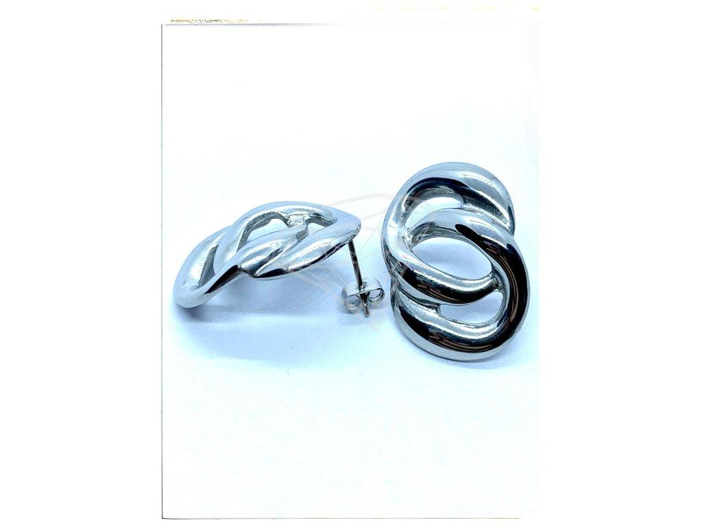 (O2105) Ocelové náušnice na puzetu