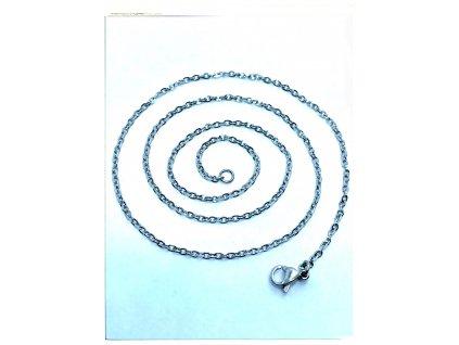 (O363) Ocelový dámský řetízek 36 - 50 cm/0,15 cm, B-ANKER