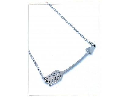 (O4048) Ocelový dámský set/náhrdelník ŠÍP