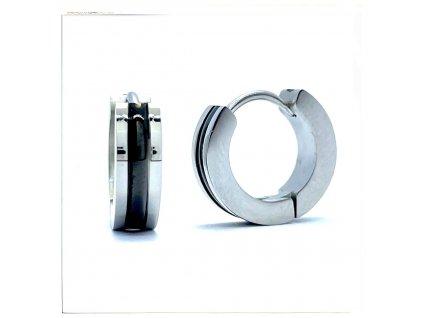(O5152) Ocelové náušnice KROUŽKY Ø 14 MM
