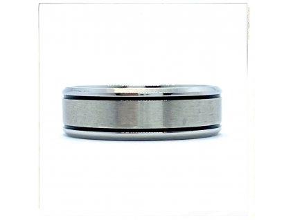 (O130) Ocelový prsten 7 mm, UNISEX