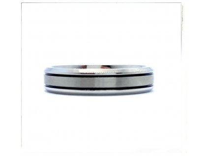 (O133) Ocelový prsten 5 mm, UNISEX