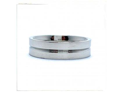 (O134) Ocelový prsten 6 mm, UNISEX