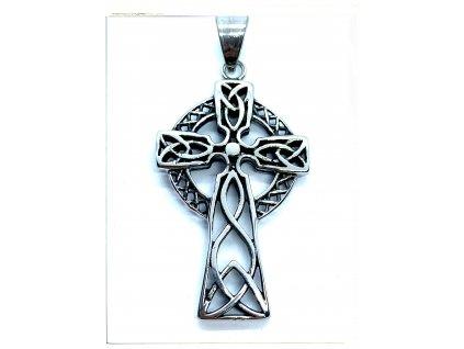 (O422) Ocelový KELTSKÝ kříž