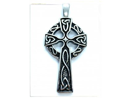 (O432) Ocelový KELTSKÝ kříž 5 cm