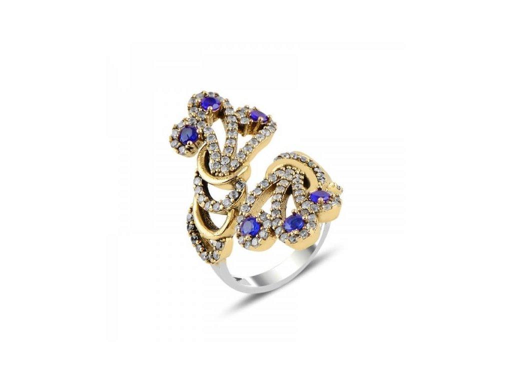 strieborny prsten damsky nastavitelna velkost PR83749RHBR