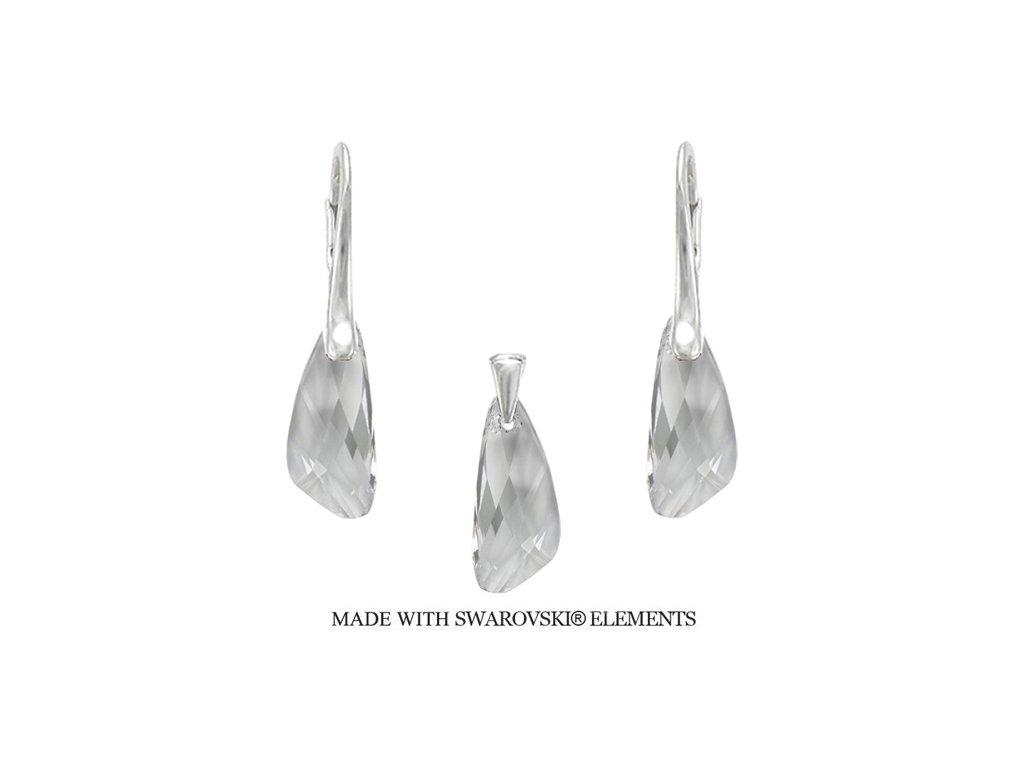 Set Naneth s kryštálmi Swarovski®Crystals Wing Crystal