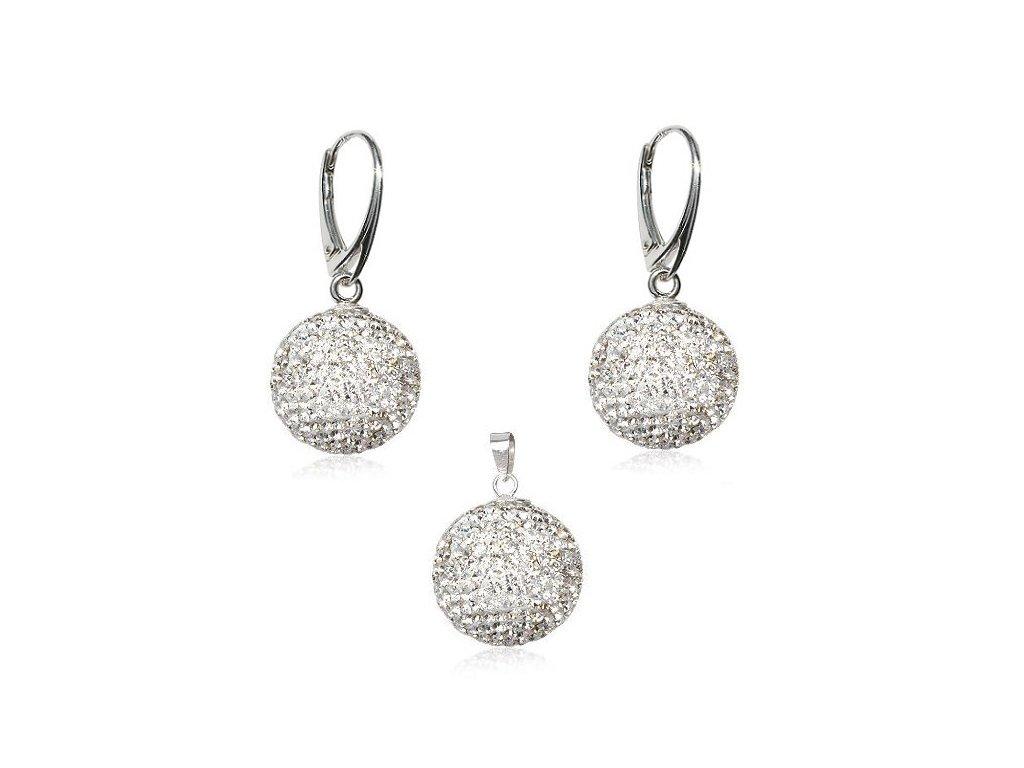 Swarovski Elements set Disco Ball Crystal 10 mm