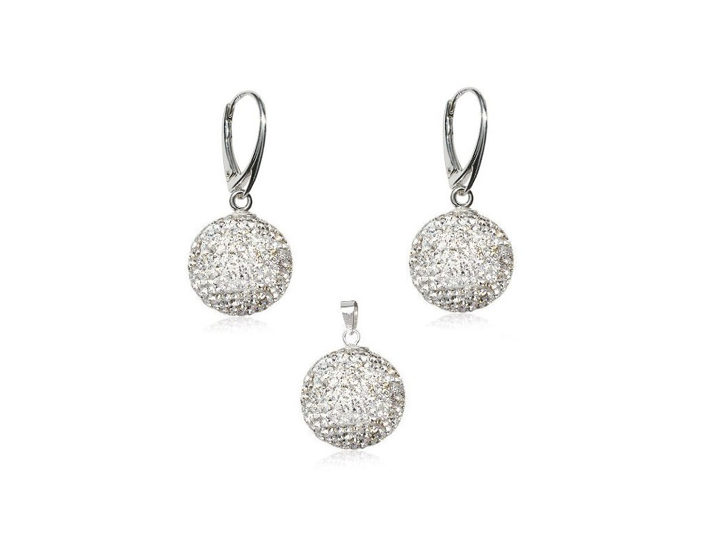 Swarovski Elements set Disco Ball Crystal 10 mm