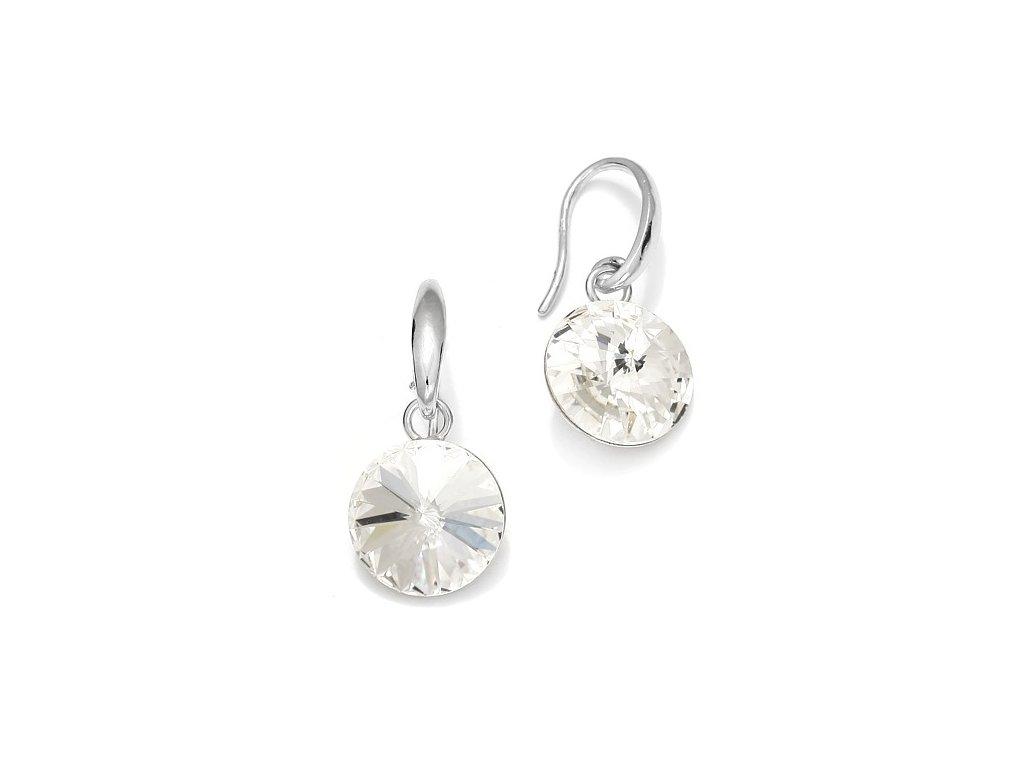 Náušnice Rivoli s kryštálmi Swarovski Elements Crystal