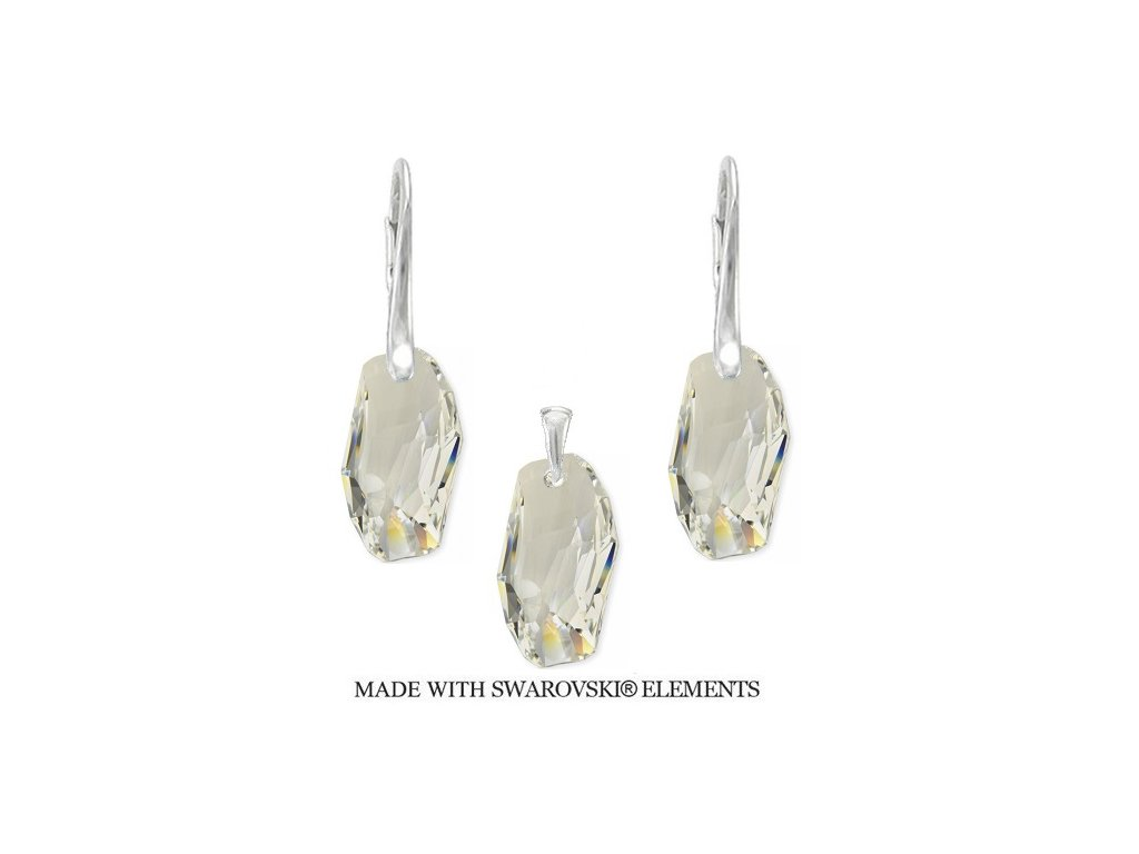 Set METEOR Swarovski Elements Crystal