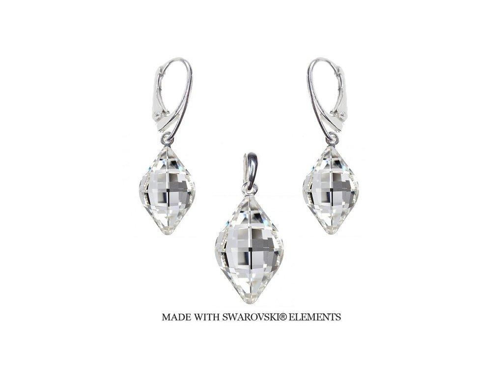 Set Swarovski Elements LEMON Crystal
