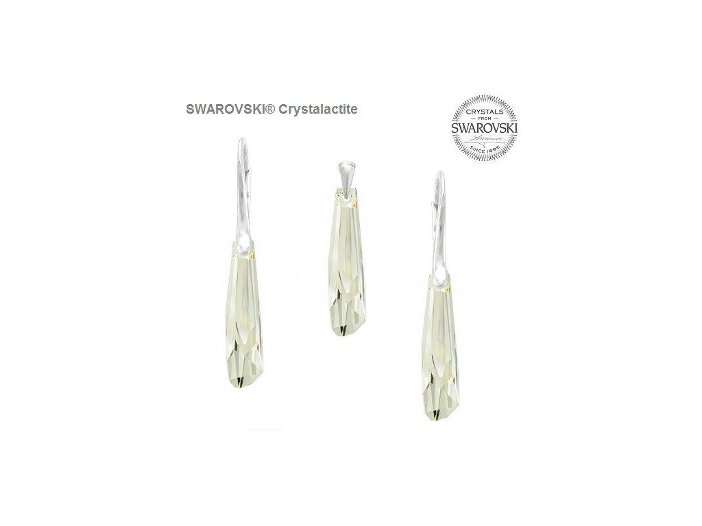 swarovski-set-biely-strieborny-visiaci-crystalaactite-grand