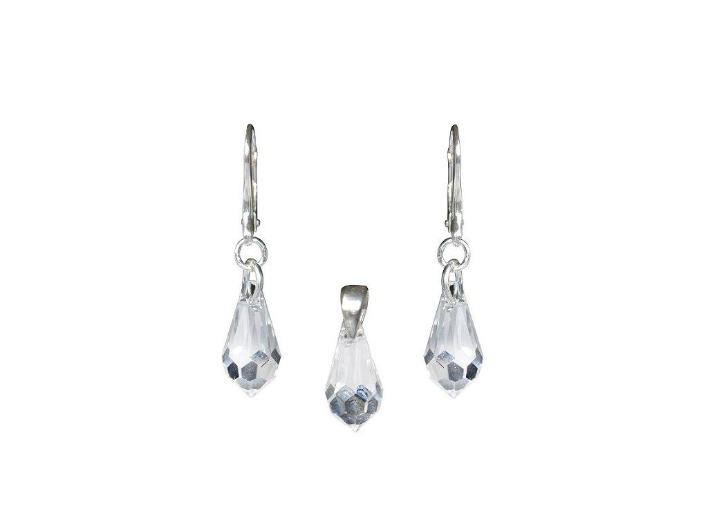 Set Teardrop s kryštálmi Swarovski Elements Crystal
