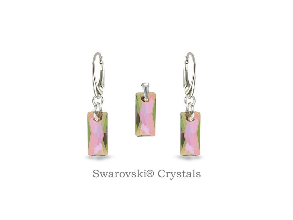 fialový set swarovski® paradise shine