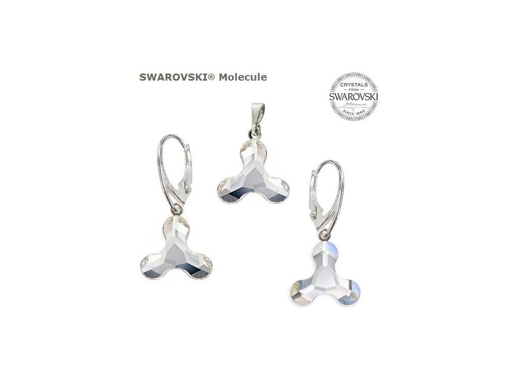 Set s kryštálmi MOLECULE Swarovski®Crystals Crystal