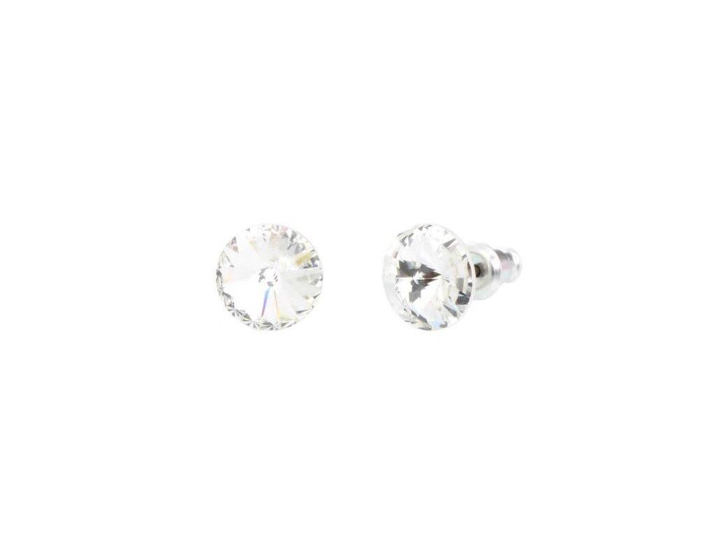 swarovski-nausnice-okruhle-biele