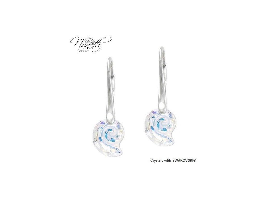 Náušnice Naneth s kryštálmi Swarovski Crystals Sea Sail AB