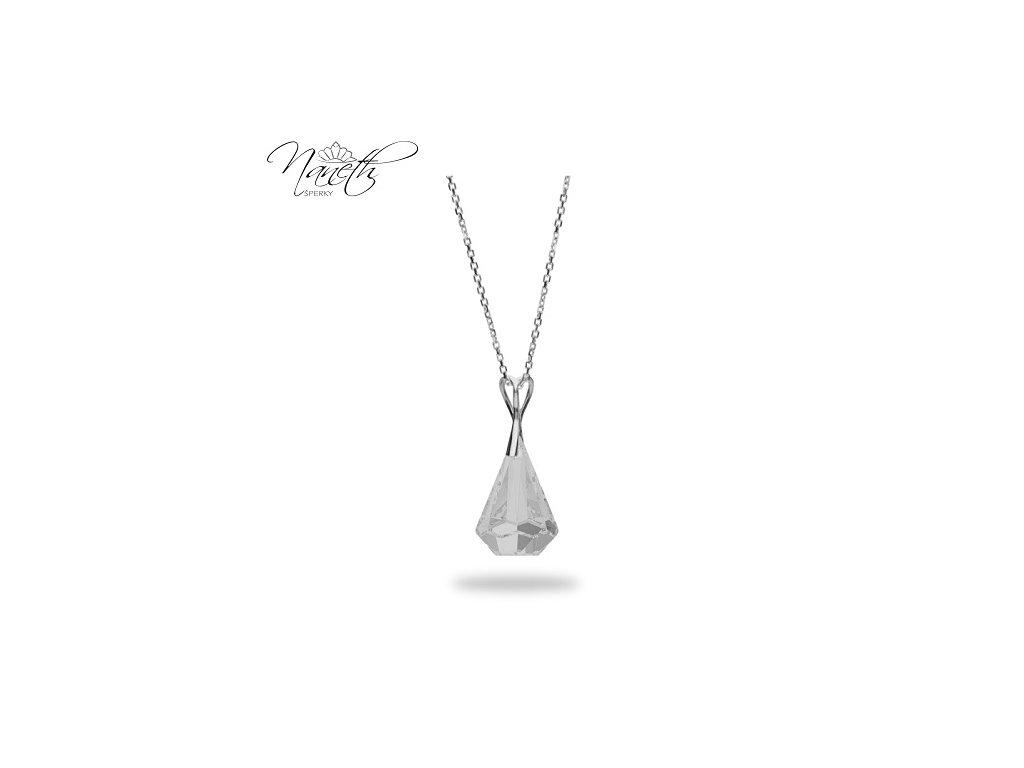 Náhrdelník Naneth s kryštálom Swarovski®Crystals Xirius Crystal 24 mm