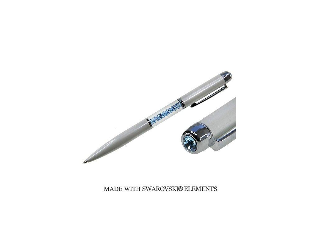 swarovski-pero-biele-modre-krystaly