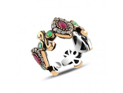 strieborny prsten LARA nastavitelna velkost PR42749RHB