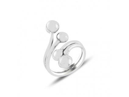 strieborny prsten LOP nastavitelna velkost PR09489RH