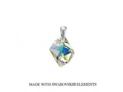 Prívesok Swarovski Elements Cosmic AB 20 mm