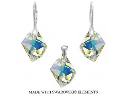 Swarovski Elements set Cosmic Crystal AB 20 mm
